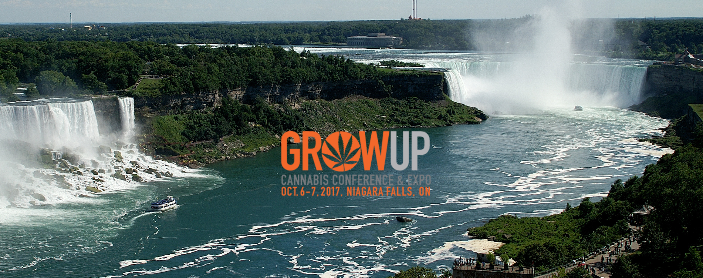 Grow Up Cannabis Conference & Expo, Niagara Falls 2017