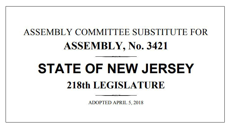 BSC's Notes on New Jersey's Assembly Committee Substitute for Medical Cannabis Bill A-3421